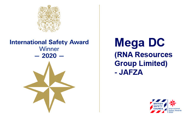 British Safety Council 2020 International Safety Award