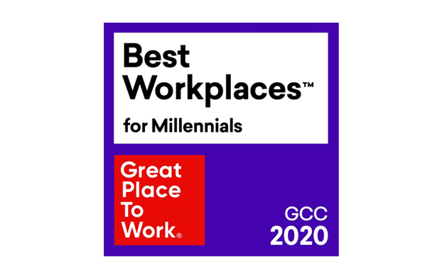 GPTW Best Workplace for Millennials – GCC 2020 – 2021